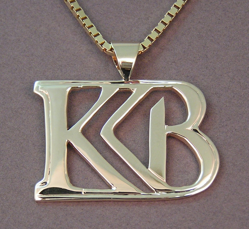 source showroom from necklace quality global out stainless iced steel luxury pendant logo custom