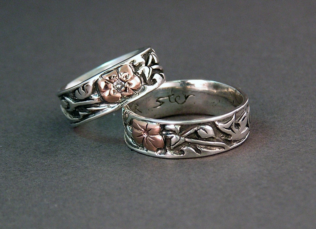 East meets West in Our Story Custom Wedding Rings