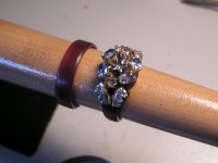 Diamonds & Sapphires - Custom Wedding Set