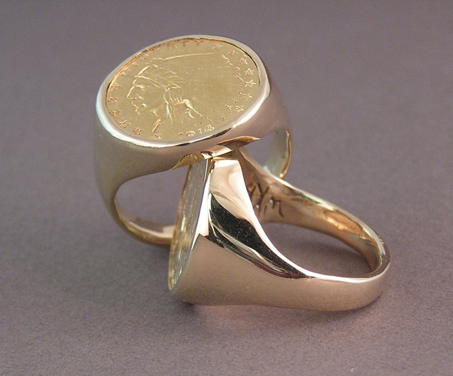 Make your Collector s Item Custom Coin Ring a Reality