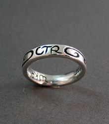 Sterling Silver Custom CTR Emblem Ring