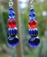 Trade Bead Elegance Earrings