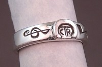 Musical notes on a Custom CTR Ring