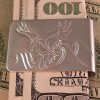 Sterling Surfer Eagle Hand Carved Money Clip by Owen Walker
