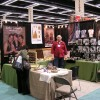 Photo of Owen Walker and customer at the Seattle Gift Show