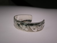 Photo of small Orca bracelet