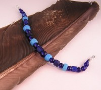 Cobalt Blue Russians and Padre Trade Beads