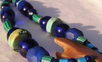 Beautiful Blues and Green Trade Beads