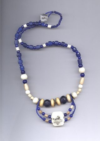 Trade Beads with Scrimshaw