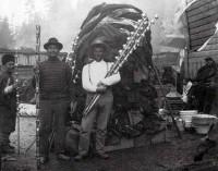 Old photo of Kwakwakewak potlatch
